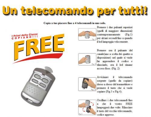 Telecomando Free Il Blog Del Telecomando Di Gianfranco Caravelli