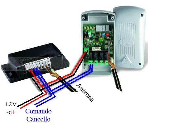 Schema Elettrico Nice Mca2 : Cancelli condominiali con diversa frequenza come